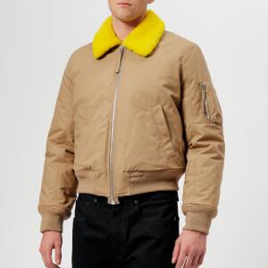 352a4a5a205e1 Helmut Lang Men s Bomber Jacket - Camel