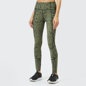 Varley Women's Bedford Tights - Olive Snake