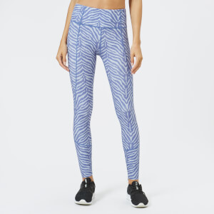 Varley Women's Bedford Tights - Blue Zebra