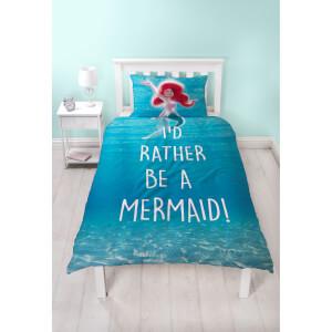 Parure de lit La Petite Sirène I'd Rather Be a Mermaid