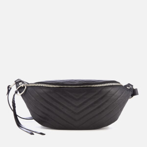 Rebecca Minkoff Women's Edie Quilted Nylon Sling Bag - Black