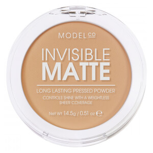 ModelCo Invisible Matte Pressed Powder - Nude Beige