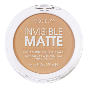 ModelCo Invisible Matte Pressed Powder - Natural Beige