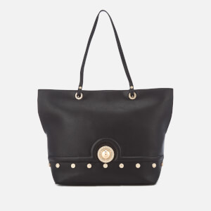 Versace Jeans Women's Logo Stud Tote Bag - Black