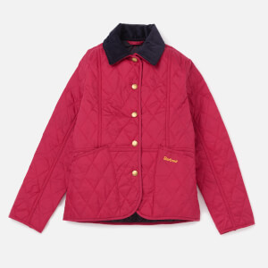 Barbour Girls' Summer Liddesdale Jacket - Fucshia/Navy