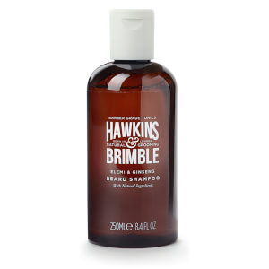 Hawkins & Brimble shampoo naturale per barba (250 ml)
