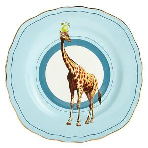 Yvonne Ellen Giraffe Cake Plate - Blue