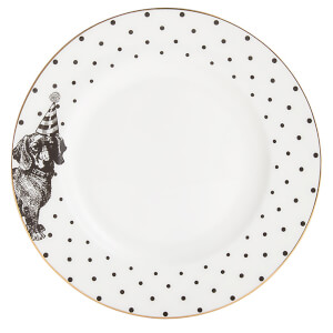 Yvonne Ellen Party Pup Side Plate - White