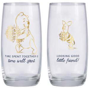 Winnie the Pooh Glasses - Set of 2