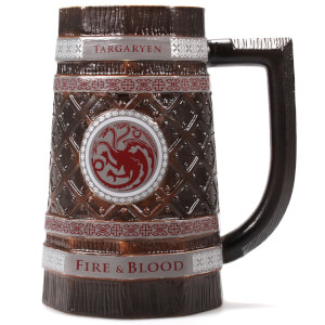 Game of Thrones Embossed Stein - Targaryen