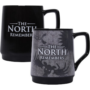 Game of Thrones Tasse mit Thermo-Effekt - The North Remembers