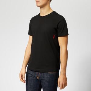 HUGO Men's Twin Pack T-Shirt - Black