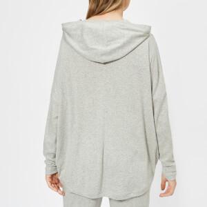 Calvin Klein Women's Long Sleeve Hoody - Grey Heather: Image 2
