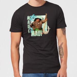 T-Shirt Disney Moana Maui - Nero - Uomo