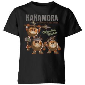 T-Shirt Enfant Kakamora Vaiana, la Légende du bout du monde Disney - Noir
