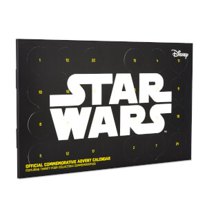 Star Wars Sammelmünzen Adventskalender - Limited Edition