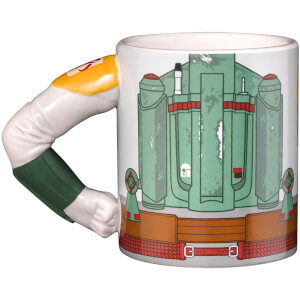 Meta Merch Star Wars Boba Fett Tasse mit Henkel in Armform