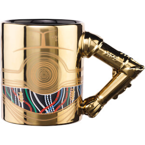 Meta Merch Star Wars C-3PO Tasse mit Henkel in Armform