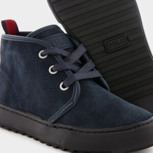 Polo Ralph Lauren Kids' Chett Suede Chukka Boots - Navy: Image 4