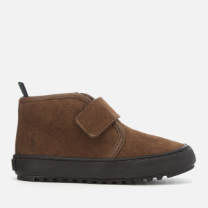 Polo Ralph Lauren Toddlers' Chett EZ Suede Velcro Chukka Boots - Snuff