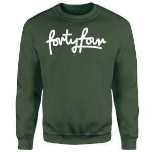 How Ridiculous Forty Four Script Sweatshirt - Forest Green