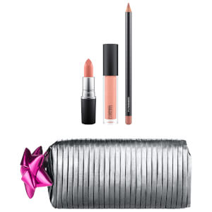 MAC Shiny Pretty Things Goody Bag - Nude Lips (Worth £47)
