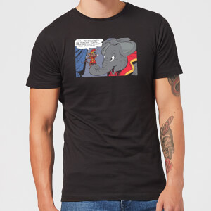 Dumbo Rich And Famous Herren T-Shirt - Schwarz