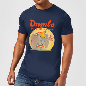 T-Shirt Homme Flying Elephant Dumbo Disney - Bleu Marine