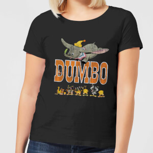 Camiseta Disney Dumbo The One The Only - Mujer - Negro