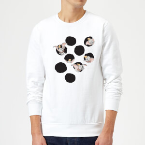 Dumbo Peekaboo Sweatshirt - White