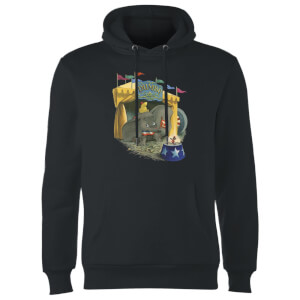 Sweat à Capuche Homme Cirque Dumbo Disney - Noir
