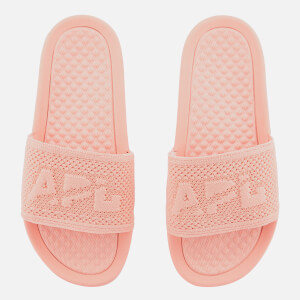 Athletic Propulsion Labs Women's Big Logo TechLoom Slide Sandals - Blush