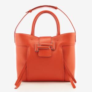 Tod's Women's Shopping Tote Bag - Orange