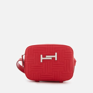 Tod's Women's Double T Camera Bag - Red