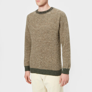 Howlin' Men's Captain Harry Trim Detail Knitted Jumper - Reflection