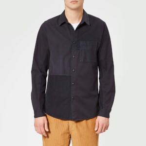 Folk Men's Fraction Shirt - Charcoal