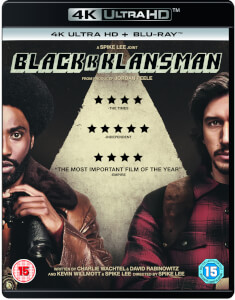 BlacKkKlansman - 4K Ultra HD (Includes Blu-Ray)
