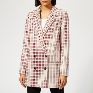 Gestuz Women's Obia Blazer - Red/Pink/White