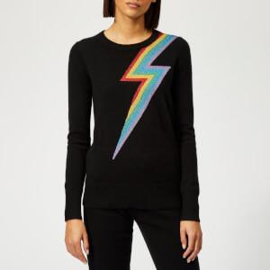 Madeleine Thompson Women's Chianti Pullover Jumper - Black/Rainbow