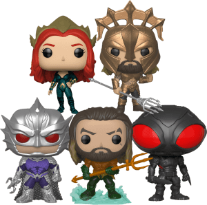 DC Aquaman Pop! Vinyl - Pop! Collection