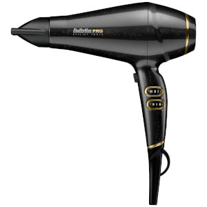BaByliss PRO Keratin Lustre Hair Dryer - Black Shimmer