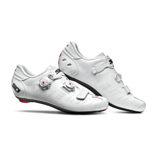 Sidi Ergo 5 Road Shoes - White/White