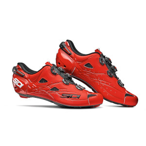 Sidi Shot Matt Road Shoes - Matt Red
