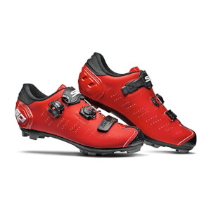 Sidi Dragon 5 SRS Matt MTB Shoes - Matt Red/Black