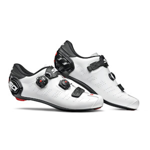 Sidi Ergo 5 Road Shoes - White/Black