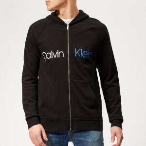 Calvin Klein Men's Full Zip Hoodie - Black
