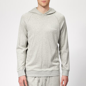 Calvin Klein Men's Long Sleeve Hoodie - Grey Heather