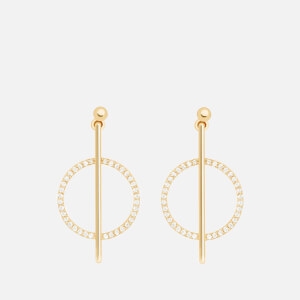 Astrid & Miyu Women's Venus Earrings - Gold