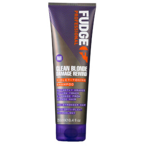 Clean Blonde Damage Rewind Purple Toning Shampoo 250ml
