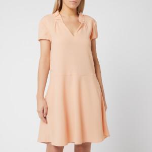 Emporio Armani Women's Ruffle Collar Dress - Pink